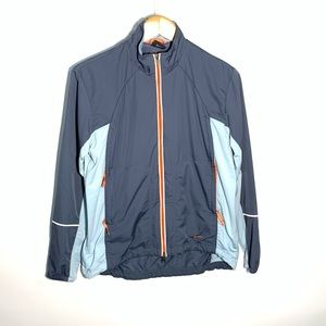 Nike athletic windbreaker jacket
